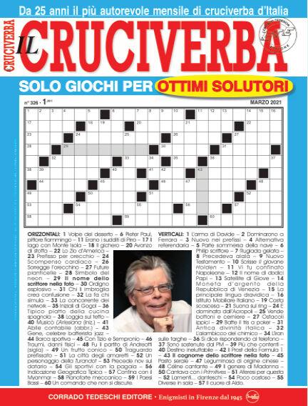 Il Cruciverba February 26, 2021 00:00