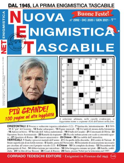 Nuova Enigmistica Tascabile November 28, 2020 00:00