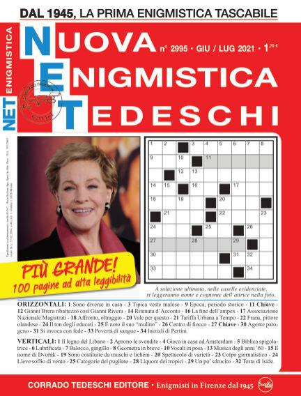 Nuova Enigmistica Tascabile May 28, 2021 00:00