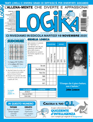 Settimana Logika 116