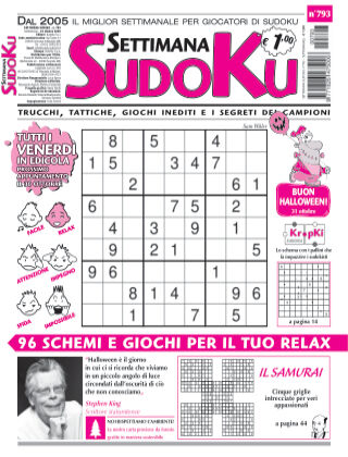 Settimana Sudoku 793