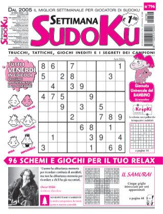 Settimana Sudoku 796