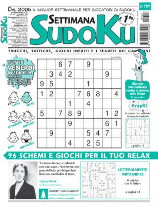 Settimana Sudoku 797
