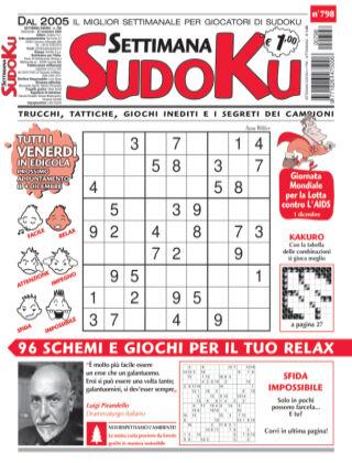 Settimana Sudoku 798