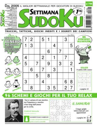 Settimana Sudoku 799