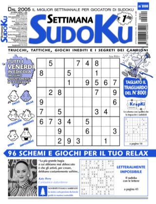 Settimana Sudoku 800