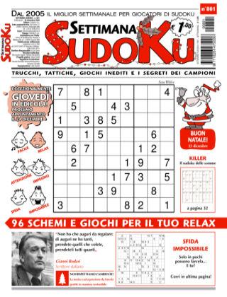 Settimana Sudoku 801