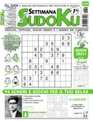 Settimana Sudoku 802