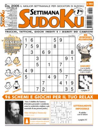 Settimana Sudoku 803
