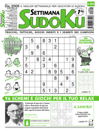 Settimana Sudoku 804