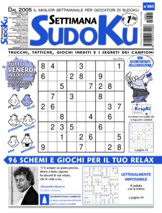 Settimana Sudoku 805