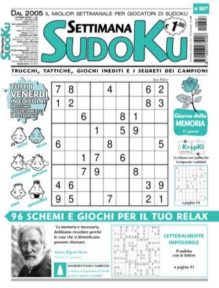 Settimana Sudoku 807