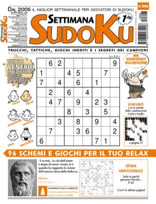 Settimana Sudoku 806