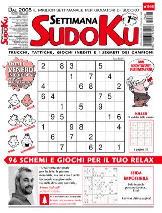 Settimana Sudoku 808