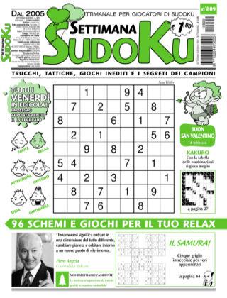 Settimana Sudoku 809