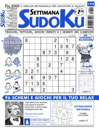 Settimana Sudoku 810