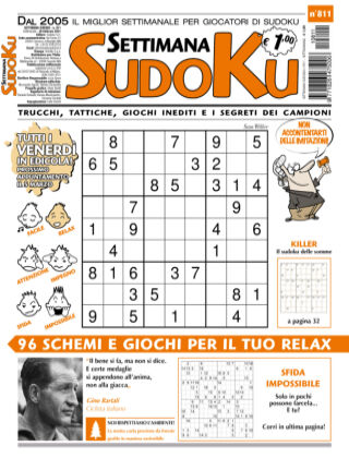 Settimana Sudoku 811
