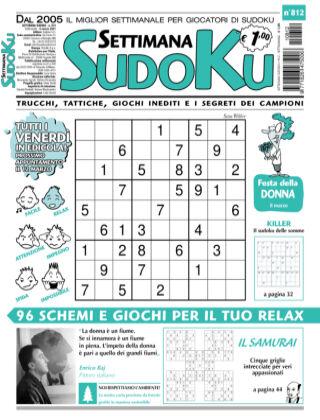 Settimana Sudoku 812