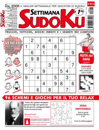Settimana Sudoku 813