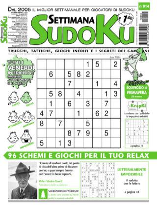 Settimana Sudoku 814
