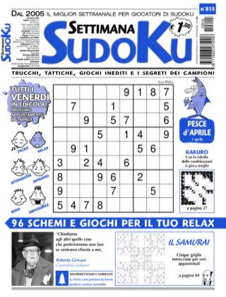 Settimana Sudoku 815
