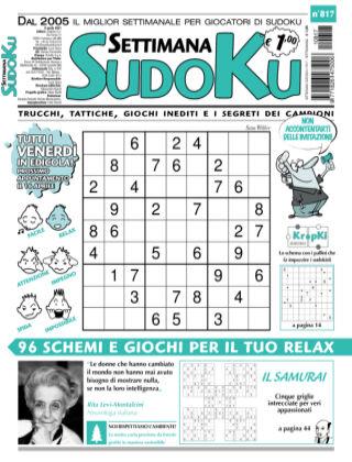Settimana Sudoku 817