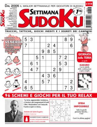 Settimana Sudoku 818