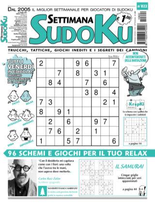 Settimana Sudoku 822