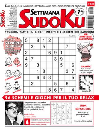 Settimana Sudoku 823