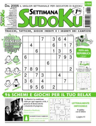 Settimana Sudoku 824