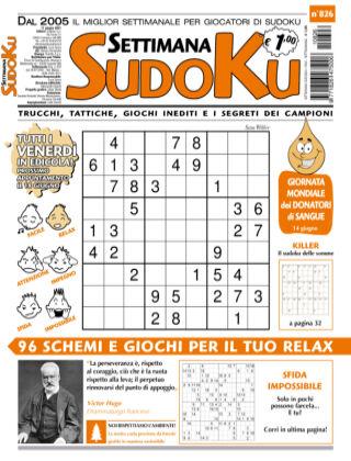 Settimana Sudoku 826