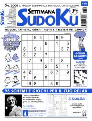 Settimana Sudoku 825
