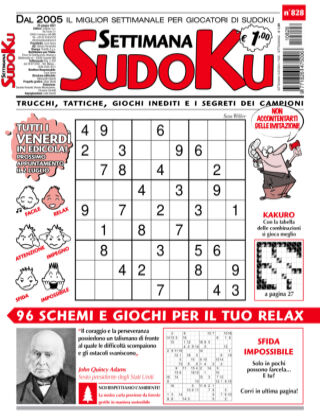 Settimana Sudoku 828