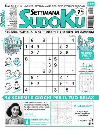 Settimana Sudoku 827