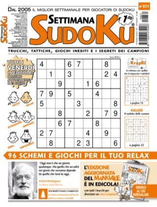Settimana Sudoku 831