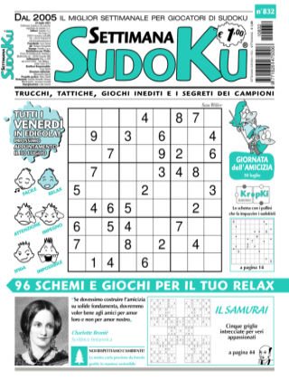 Settimana Sudoku 832