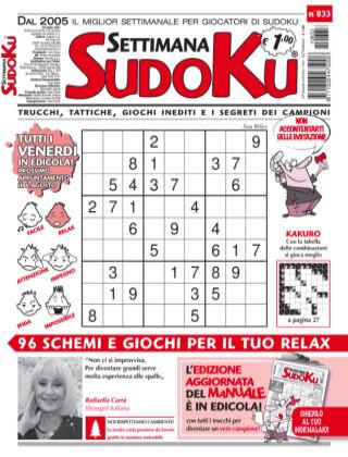 Settimana Sudoku 833