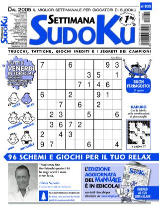 Settimana Sudoku 835