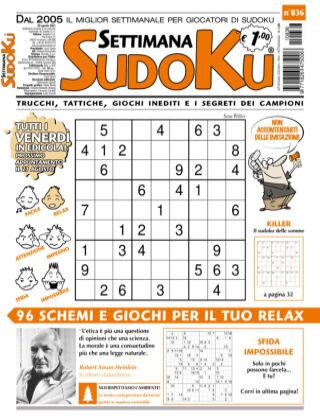 Settimana Sudoku 836