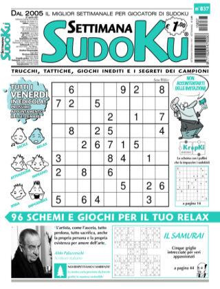 Settimana Sudoku 837