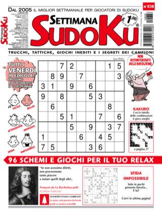 Settimana Sudoku 838