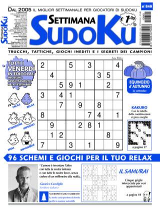 Settimana Sudoku 840