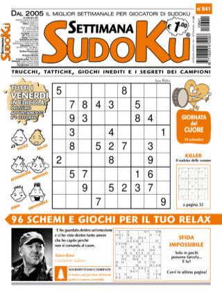 Settimana Sudoku 841