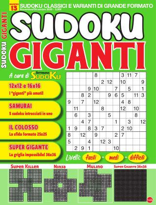 Sudoku Giganti 13