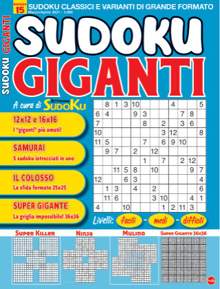 Sudoku Giganti 15