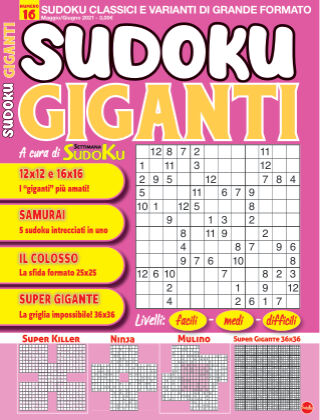 Sudoku Giganti 16