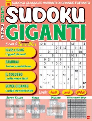 Sudoku Giganti 18