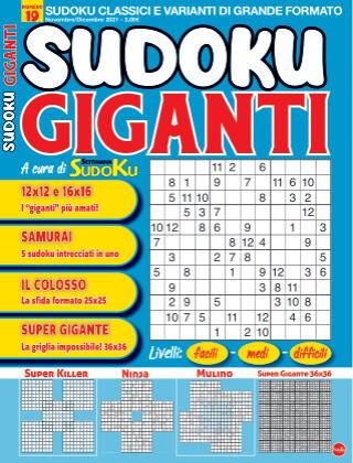 Sudoku Giganti 19
