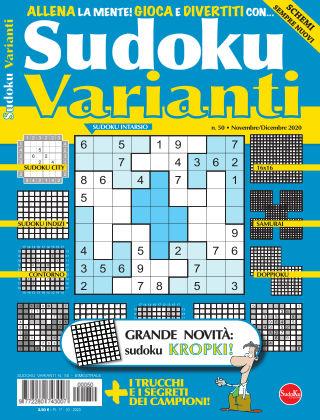 Sudoku Varianti 50