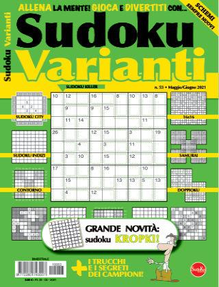 Sudoku Varianti 53